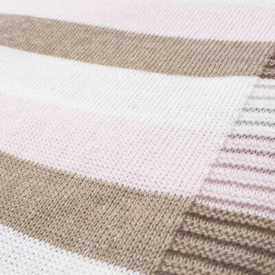 Imagem 13 do produto Kit Berço: Rolinhos Laterais + Rolinho Cabeceira + Manta + Segura nenê Napolitan - Petit