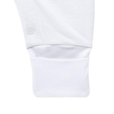 Imagem 2 do produto Macacão longo para bebe em algodão egípcio Gaiolinhas - Bibe - 40C01-H11 MAC ML B AS GAIOLAS-RN