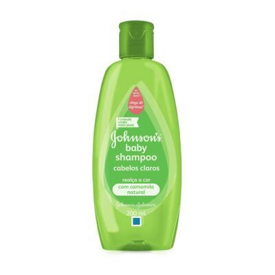 Imagem 1 do produto Shampoo Johnson´s Baby Cabelos Claros 200ml