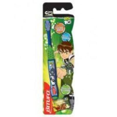 Imagem 1 do produto Escova Dental Ben 10 com Protetor de Cerdas