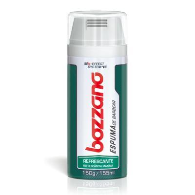 Imagem 3 do produto Espuma de Barbear Bozzano Refrescante 190g - Espuma de Barbear Bozzano Refrescante 150g