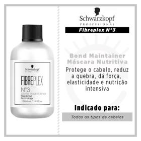 Schwarzkopf Fibreplex N°3 Bond Maintainer - Máscara Nutritiva - 100ml
