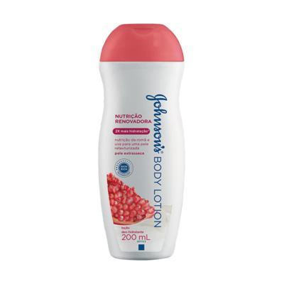 Imagem 1 do produto Loção Hidratante Johnson´s Romã Uva 200ml