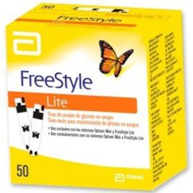 Tiras de Glicemia Freestyle Optium - 50 unidades