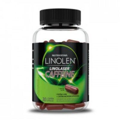 Imagem 1 do produto Linolen Nutrilatina Caffeine 30 Cápsulas