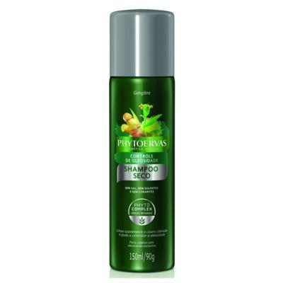 Shampoo Seco Phytoervas - Controle de Oleosidade Gengibre   150ml