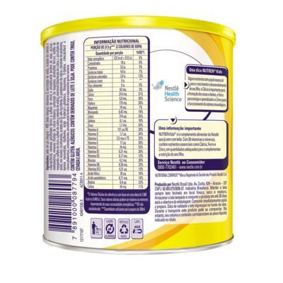 Imagem 2 do produto Suplemento Alimentar Nestlé Nutren Kids Baunilha 350g