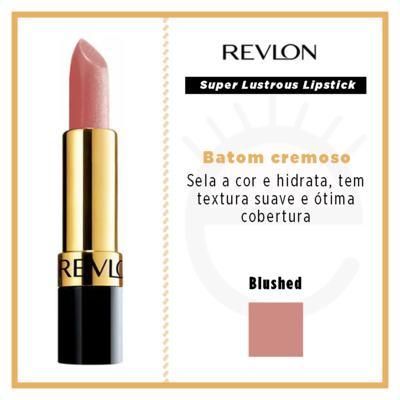 Imagem 4 do produto Super Lustrous Lipstick Revlon - Batom - Blushed