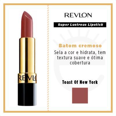 Imagem 4 do produto Super Lustrous Lipstick Revlon - Batom - 325 - Toast Of New York