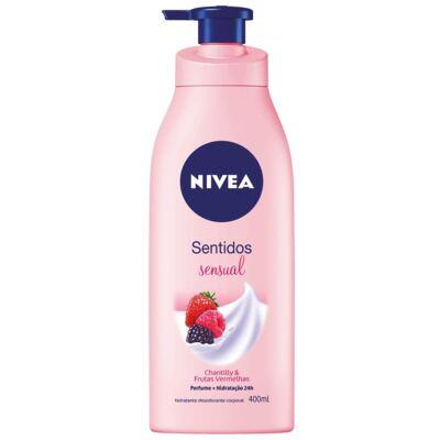 Imagem 1 do produto Loção Hidratante Nivea Sentidos Sensual 400ml