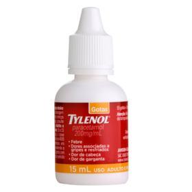Tylenol Gotas Infantil - 200mg   15ml