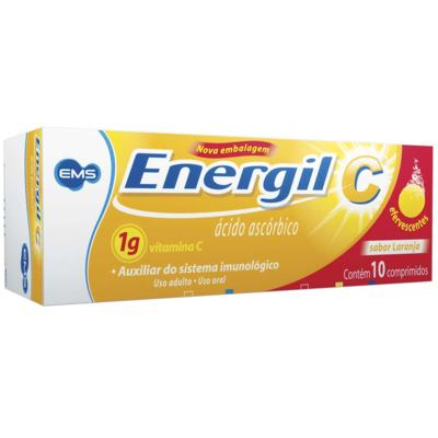 Energil C - 1g   10 comprimidos efervescentes