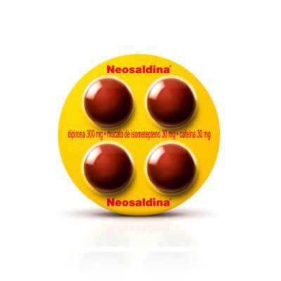 Imagem 2 do produto Neosaldina 4 comprimidos - 4 comprimidos