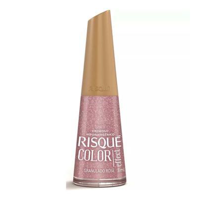 Esmalte Risqué - Granulado Rosê Cremoso | 8ml
