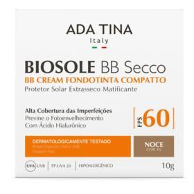 Ada Tina Biosole BB Secco Base Compacta FPS 60 - Ada Tina Biosole BB Secco Base Compacta FPS 60 10g - 45 Noce