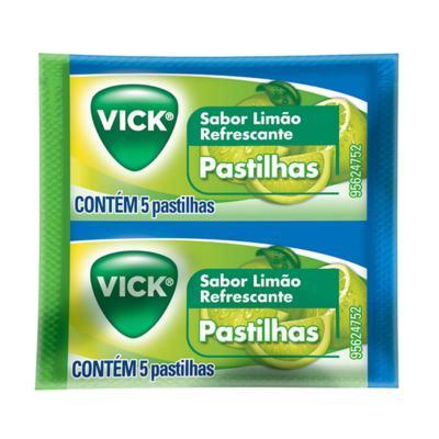 Imagem 1 do produto Pastilhas Vick Limão 5 Unidades