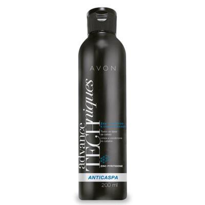 Imagem 1 do produto Shampoo e Condicionador 2 em 1 Advance Techniques Anticaspa - 200ml -