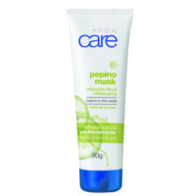 Imagem 1 do produto Máscara Facial Refrescante Avon Care Pepino - 90g