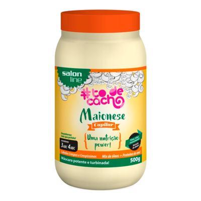 Creme Salon Line Nutrição Capilar Maionese To De Cacho - Power | 500g