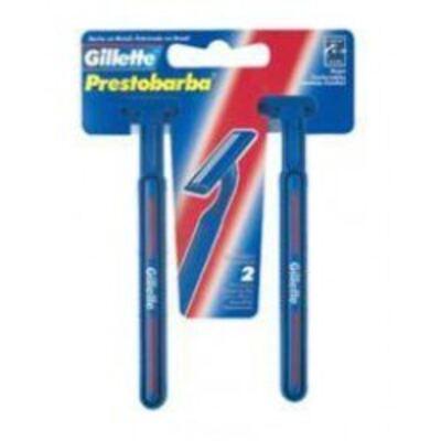Imagem 1 do produto Aparelho De Barbear Gillette Prestobarba com 2 unidades