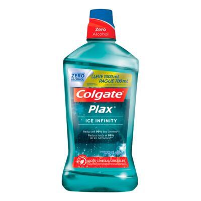Imagem 1 do produto Enxaguante Bucal Colgate Plax Ice Infinity 1 Litro