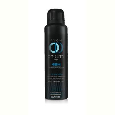 Desodorante Aerosol On Duty Minerals Masculino 150ml
