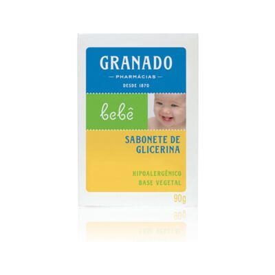 Imagem 2 do produto Kit com 1 sabonete + 1 Loção Hidratante + 1 Óleo Suave para bebê Tradicional - Granado