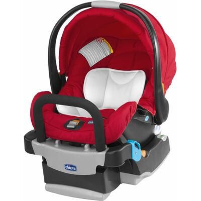 Imagem 3 do produto Viaro Travel System: Carrinho de bebê Viaro Graphite + Poltrona Keyfit Red (0m+) - Chicco