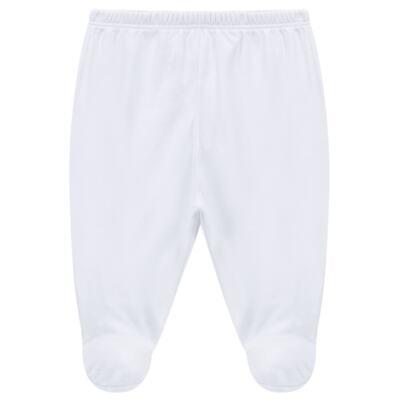Imagem 4 do produto Body longo c/ Calça (mijão) em cotton touch Branco - Mini Sailor - 19354260 BODY M/L C/ MIJAO SUEDINE BRANCO -0-3
