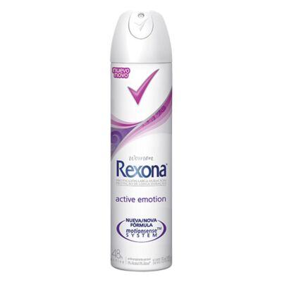 Imagem 1 do produto Desodorante Rexona Aerosol Active Emotion Feminino - 175ml