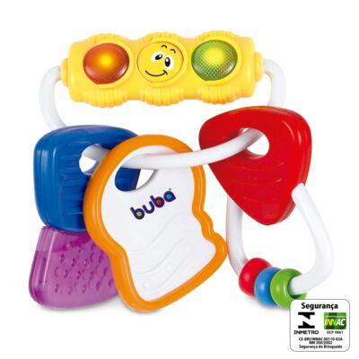 Imagem 2 do produto Chaveiro de Atividades e Mordedor (3m+) - Buba