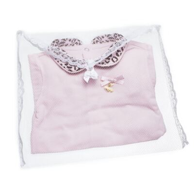Imagem 6 do produto Body longo com Mijão para bebê em algodão egípcio Oncinha - Roana - 02532023220 CONJUNTO BODY GOLA + MIJÃO ONCINHA -P