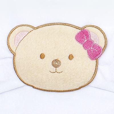 Imagem 2 do produto Babador com fraldinha de boca para bebe Kedy Bear - Classic for Baby