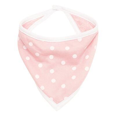Imagem 1 do produto Babador Bandana para bebe atoalhado Rosa - Classic for Baby