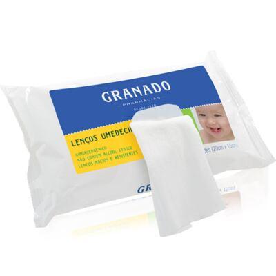 Imagem 3 do produto Kit com 1 Sabonete Líquido + 3 Lenços Umedecidos para bebê Tradicional - Granado