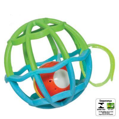 Imagem 2 do produto Baby Ball Luz & Som Azul (6m+) - Buba