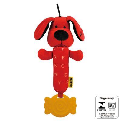 Imagem 2 do produto Chocalho Mordedor Patrick Baby Squeaky (3m+) - K's Kids