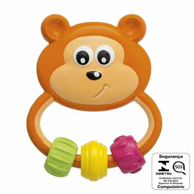 Imagem 2 do produto Chocalho Urso Pega Fácil - Baby Senses (3m+) - Chicco