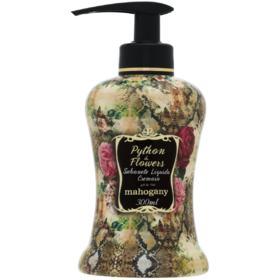 Estojo Python & Flowers Sabonete 300ml + Hidratante 200ml Mahogany