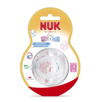 Imagem 2 do produto Chupeta Sleeptime Rose Tam 1 (0m+) - NUK