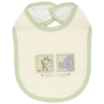 Imagem 1 do produto Babador para bebe atoalhado Safari Friends - Classic for Baby