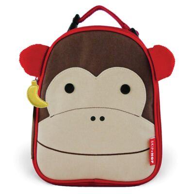 Imagem 3 do produto Mochila para bebe + Lancheira Zoo Macaco - Skip Hop