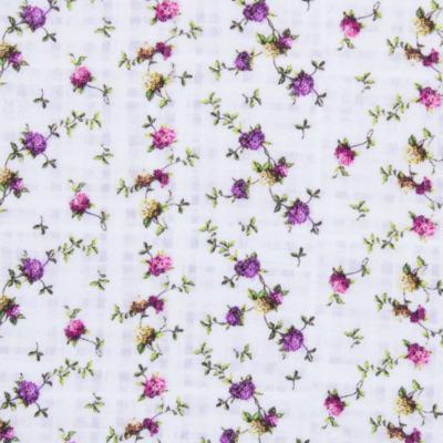 Imagem 2 do produto Regata para bebe em algodão egípcio Cute Flowers - Bibe - 38O02-G44 REGATA ESTAMPA DIGITAL FLORES LILÁS-GG