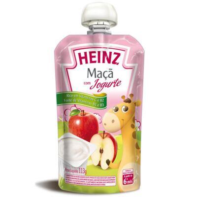 Imagem 1 do produto Papinha para bebe Maça com Iogurte (6m+)  - Heinz