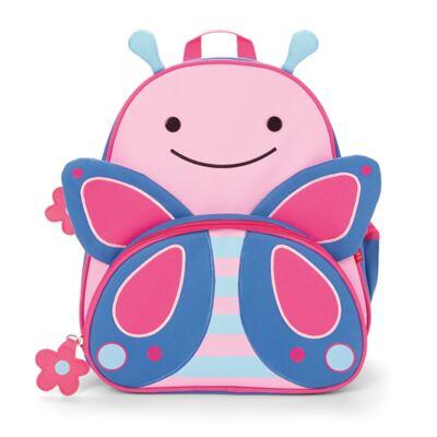 Imagem 2 do produto Mochila para bebe + Lancheira + Estojo + Garrafinha Zoo Borboleta - Skip Hop