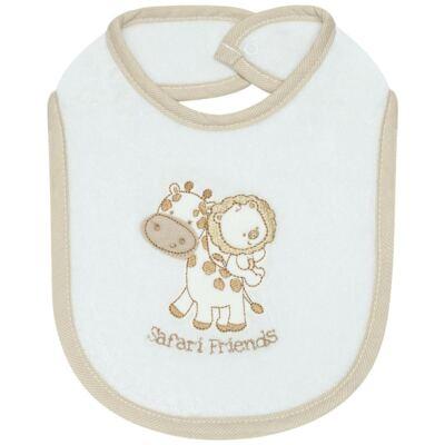 Imagem 1 do produto Babador para bebe atoalhado Safari - Classic for Baby