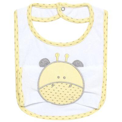 Imagem 1 do produto Babador com fraldinha de boca para bebe Nature Giraffe & Friends - Classic for Baby