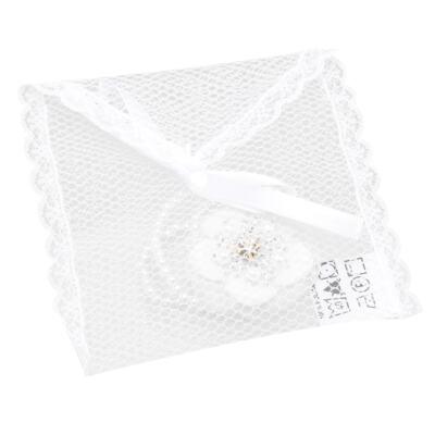 Imagem 3 do produto Prendedor de chupeta Flor & Pérolas Branco - Roana
