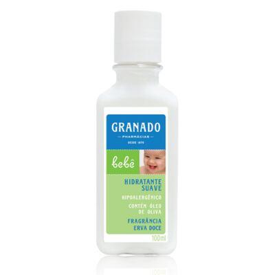 Imagem 3 do produto Kit com 1 sabonete + 1 Loção Hidratante + 1 Óleo Suave para bebê Erva-doce - Granado