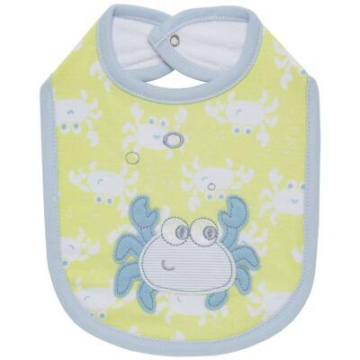 Imagem 1 do produto Babador para bebe atoalhado Cute Crab - Classic for Baby